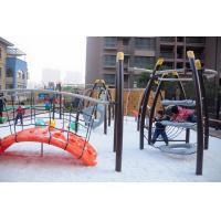 Quality Large Kids Cool Outdoor Play Equipment Climber Arch LLDPE Plastic Bridge wholesale