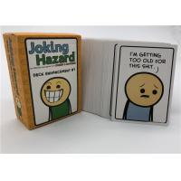 Quality Friends Family Joking Hazard Card Games For Grown Ups Fashion Design for sale
