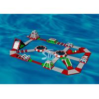 China 30x20m Custom Design Adults Giant Inflatable Water Park For Floating On Sea Beach Or Open Water wholesale