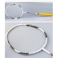 China 4U,675mm, suitable for different players, high modulus graphite badminton racket on sale