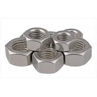 China SS304 / 316 A2/A4 SAE Stainless Steel Hex Nuts Fastener For Threaded Rod Passivated 1/2 wholesale