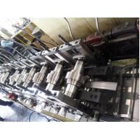 China Galvanized Metal Roll Forming Machines / Pallet Rack C Z Purlin Roll Forming Machine wholesale