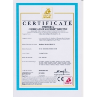 Foshan Jinyu Intelligent Machinery Co.,Ltd Certifications