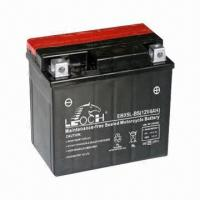 China 12V/4Ah Motorcycle Battery, Maintenance-free Type, Measures 113 x 70 x 105mm wholesale