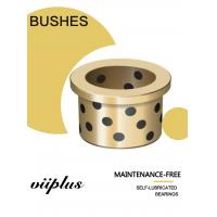 Buy cheap C93200 Tin Bronze Cast Bushings Self Lubricating Bearing Guide Plate from wholesalers