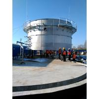 China Food Industry Waste Bolted Steel Tanks , Stainless Steel Storage Tanks wholesale
