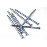 Buy cheap 4.8mm / 80mm Iron Wire Nails , Low Carbon Steel Galvanized Common Nails from wholesalers