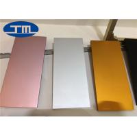 China 6063 5083 Polished Aluminum Sheet , Brushed Finish Anodized Aluminum Panels wholesale