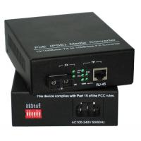 China 10M/ 100M Power Over Ethernet PSE Media Converter Built - In AC / DC Power Supply wholesale