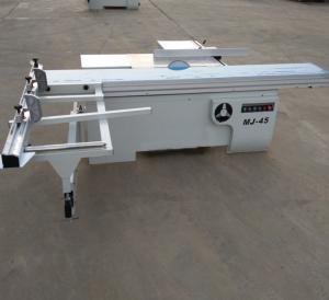 China MJ Automatic precision horizontal sliding table panel saw machine 220v wholesale