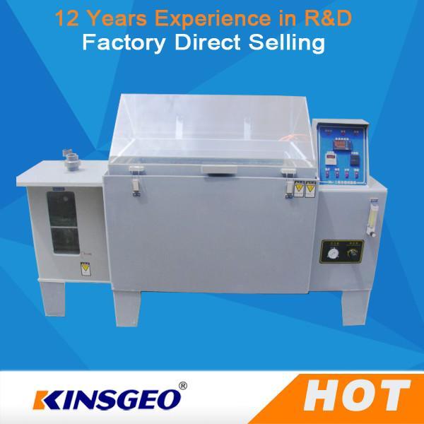 Quality SO2 Gas Salt Spray Test Machine , Salt Fog Test Chamber With PID Controller for sale
