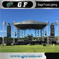 China Anti Rust Aluminum Party Tent Curved Roof Truss System Oxford 60m Width wholesale