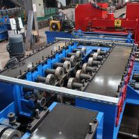 China GI Stainless Steel Cladding Cable Tray Manufacturing Machine Double Chain Drive wholesale