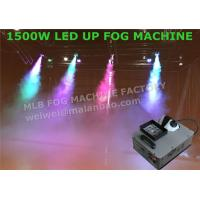 China High Velocity Vertical RGB DMX512 LED Up Shot Fog Machine For Colored Smoke wholesale