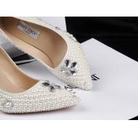 China Pearl jimmy design diamond lady's wedding shoes pointed stiletto shoes princess high heels wholesale