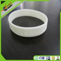 Quality Customized Sports Silicone Bracelets personalized For Boys , wristbands for sale