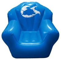 China Comfortable PVC Inflatable Sofa Chair Sofa For Temporary Seating wholesale