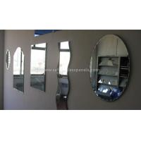 China Aluminum 8mm Colored Silver Backed Mirror Glass Decoration and Furniture wholesale