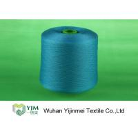 China Professional Plastic Cone Polyester Yarn Dyeing Dyed Color 100% Polyester Spun Yarn wholesale