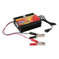 China Universal 12V 20A Car Motorcycle  Lead acid battery charger  with Digital display Charging current on sale