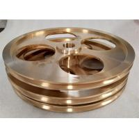 China Anti Rust Industrial Machine Parts Cooling Cycle Annealing Conductive Copper Wheel wholesale