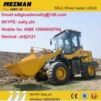 China brand new small wheel loaders for sale , sdlg mini front end loader  LG918  with LM bucket 1.4m3  from chinese suppler on sale