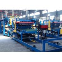 Buy cheap 300KW Speed 10m / Min PU Sandwich Panel Machine Steel Thickness Reach 0.8mm from wholesalers