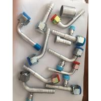 China #6 #8 #10 #12 R134a Straight Barbed O-Ring Female Fitting for AC Air Conditioning Reduced Barrier Hose wholesale