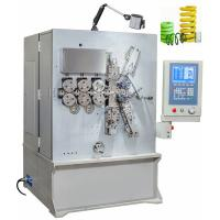 Cheap Vertical Grey White Painting CNC Spring Coiler Servo Drive Controlled High Efficiency for sale