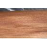 China Quarter Cut Clear Veneer For Plywood , Natural Burma Teak Wood Veneer wholesale