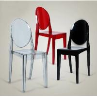 Quality Banquet / Wedding Victorian Style Dining Chairs Recyclable Philippe Starck for sale