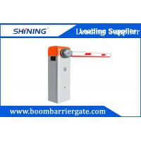 Buy cheap Adjusted Speed Automatic Boom Barrier , Electronic Security Boom Barrier IP44 from wholesalers