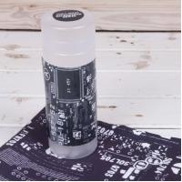 Microfiber printed cleaning cloth with PP tube packing