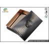 China Wine Gift Packaging Cardboard Paper Drawer Box Black Customizable wholesale