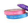 China Corporat Custom Printed Ribbon Roll Wedding Application Beautiful Surface wholesale
