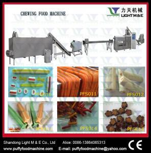 China Snacks food machinery Dog chewing making machine wholesale