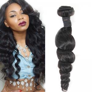 China Long-Lasting Real Virgin Brazilian Loose Wave Hair For Black Women wholesale