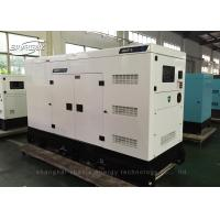 Quality 4 Pole Industrial Power Generators 307kva with Stamford Alternator wholesale