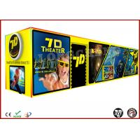 Buy cheap Movable 7D Mobile Cinema Movies 4 Seats / 6 Seats Digital Control from wholesalers