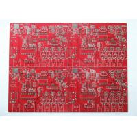 Quality FR4 Raw Material RED Solder Multi Layer PCB Custom PCB OEM Service for sale
