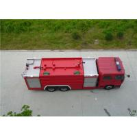 Quality 6x2 Drive Water Tanker Fire Truck Full Load Quality 26000kg Engine Power 270HP for sale