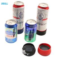 China Silicone Band Fixation Plastic Ice Chill Puck Cooler Mini Cold Packs For Beer Can Cooling wholesale