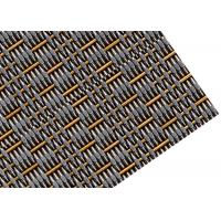 China Decorative Metal Facade Mesh , Crimped Type Woven Wire Fabric For Curtain Wall wholesale