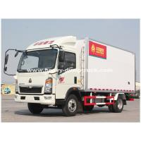 Quality Light Duty 290hp C700 Refrigerated Box Truck With ZF8118 Hydraulic Steering wholesale
