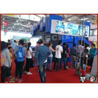 Buy cheap 6 Seats 7D Mobile Cinema , Simulated 3D Mobile Cinema For Themepark from wholesalers
