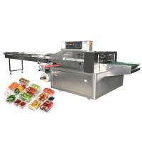 China Durable Fruit Vegetable Packing Machine , Food Wrapping Machine High Efficiency wholesale