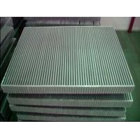 China Aluminum Vaccum Brazed Compact Heat Exchanger  Cooler In Machinery Cooling wholesale