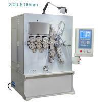 Quality 2.00 - 6.00mm Computerised CNC Spring Making Machine / Equipment Five Axis wholesale