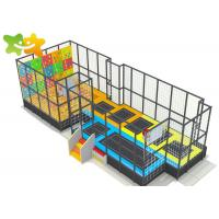Buy cheap Professional Trampoline Park Equipment Rectangle Bungee For Children Adults from wholesalers