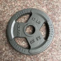 Buy cheap Family Cast Iron Weight Plates / Olympic Weight Plates 7.5KGS For Build Muscle from wholesalers